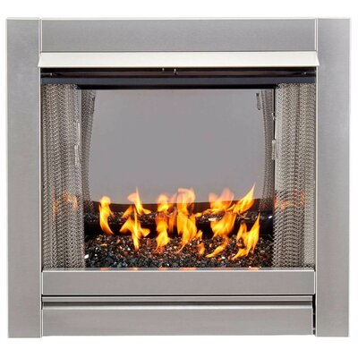 Donegal Vent Free Stainless Steel Natural Gas Outdoor Fireplace Wrought Studio