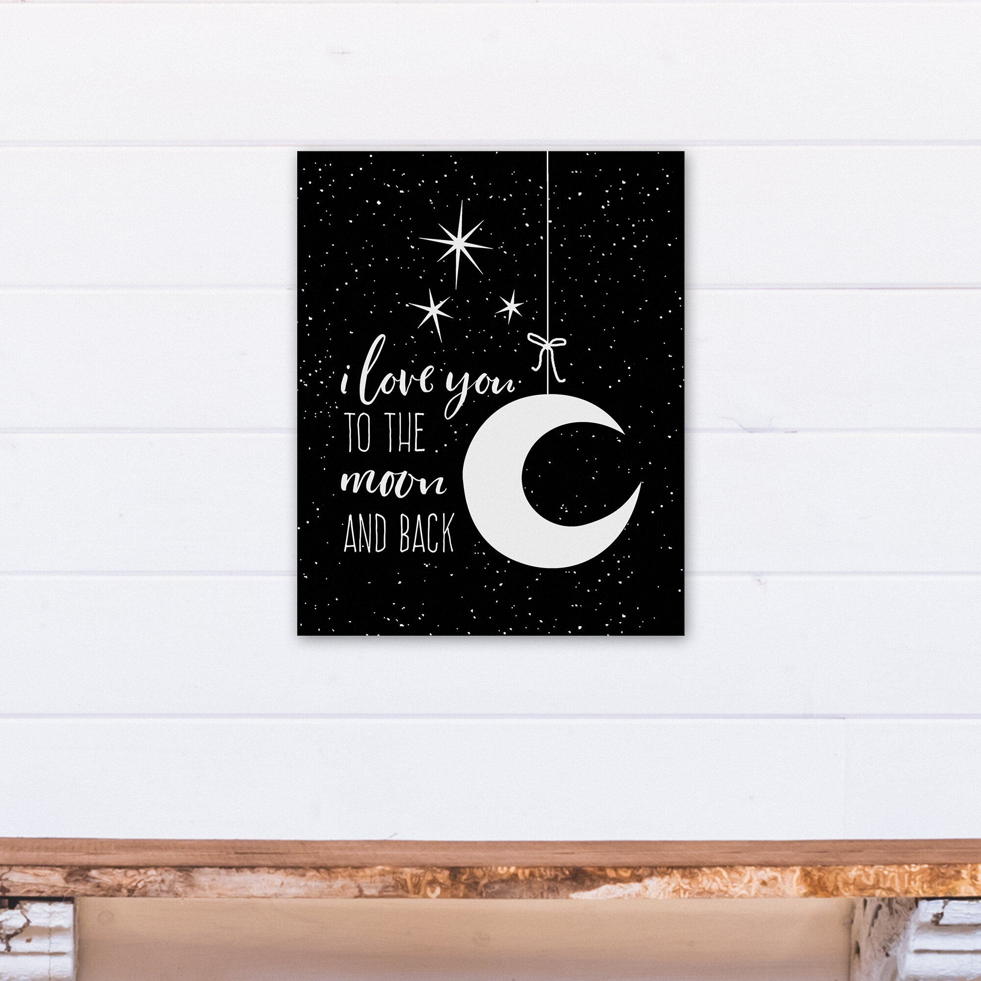 Harriet Bee Magner I Love You To The Moon Canvas Art Wayfair