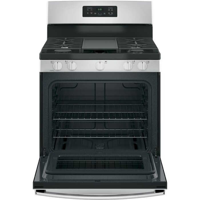 30 5 Cu Ft Freestanding Gas Range With Griddle