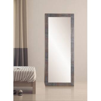 Bay Isle Home Aitken Modern Full Length Mirror Reviews Wayfair