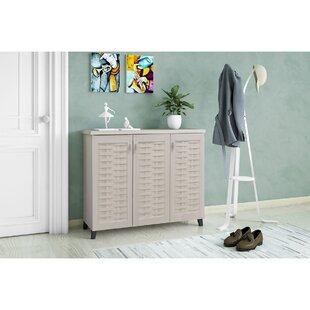 16 Pair Shoe Storage Cabinet By Brayden Studio