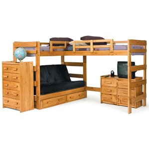 L Shaped Bunk Bed Customizable Bedroom Set