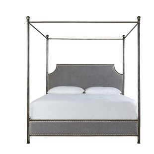 Mikah Upholstered Canopy Bed