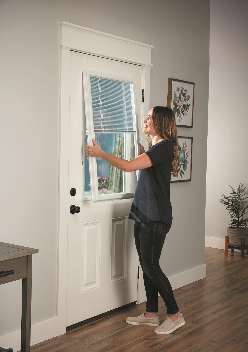 Blinds For Raised Framed Door Gl