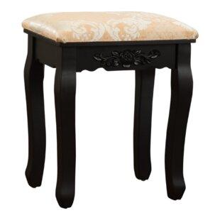 Charlton Home Bethalto Luxury Vanity stool