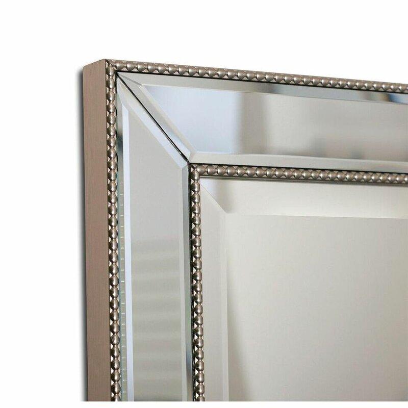 Greyleigh Weslaco Beaded 16 X 26 Recessed Framed Medicine Cabinet