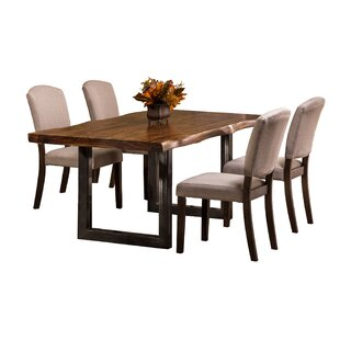 Linde 5 Piece Dining Set Brayden Studio