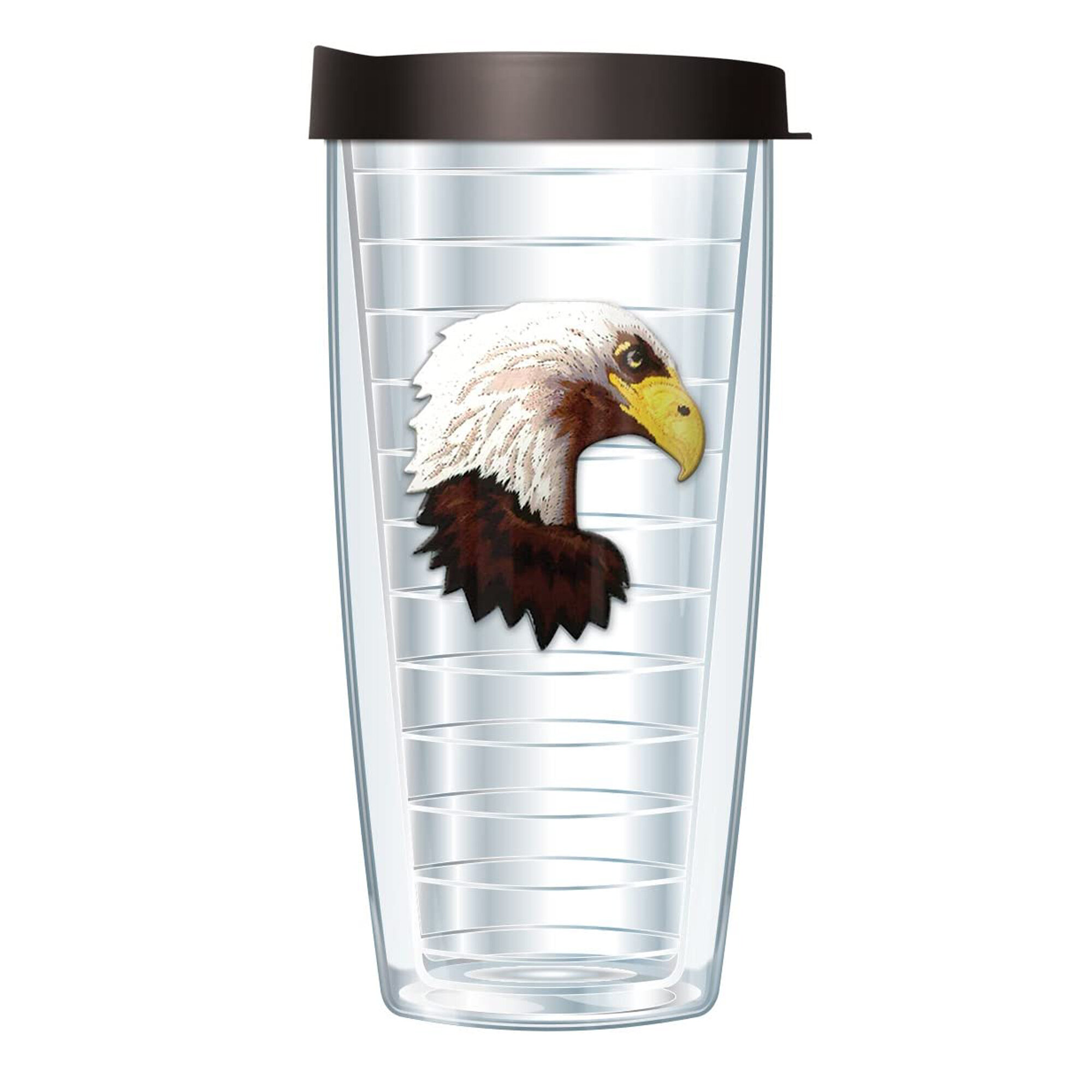 Signature American Bald Eagle 16 Oz Travel Tumbler Wayfair