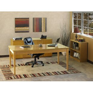 Mayline Group Luminary Series 4-Piece Standard Desk Office Suite