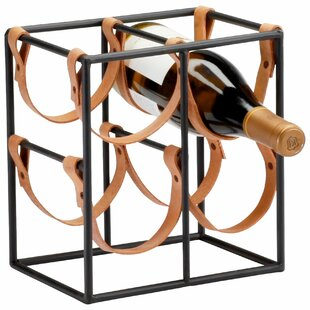 Small Brighton 4 Bottle Tabletop Wine Rac..