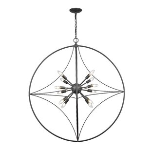 Brayden Studio Silvester 12-Light Pendant