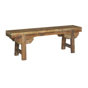 Knollview Wood Bench By Blue Elephant