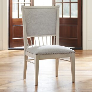 Tennille Back Windsor Upholstered Dining Chair (Set of 2) August Grove