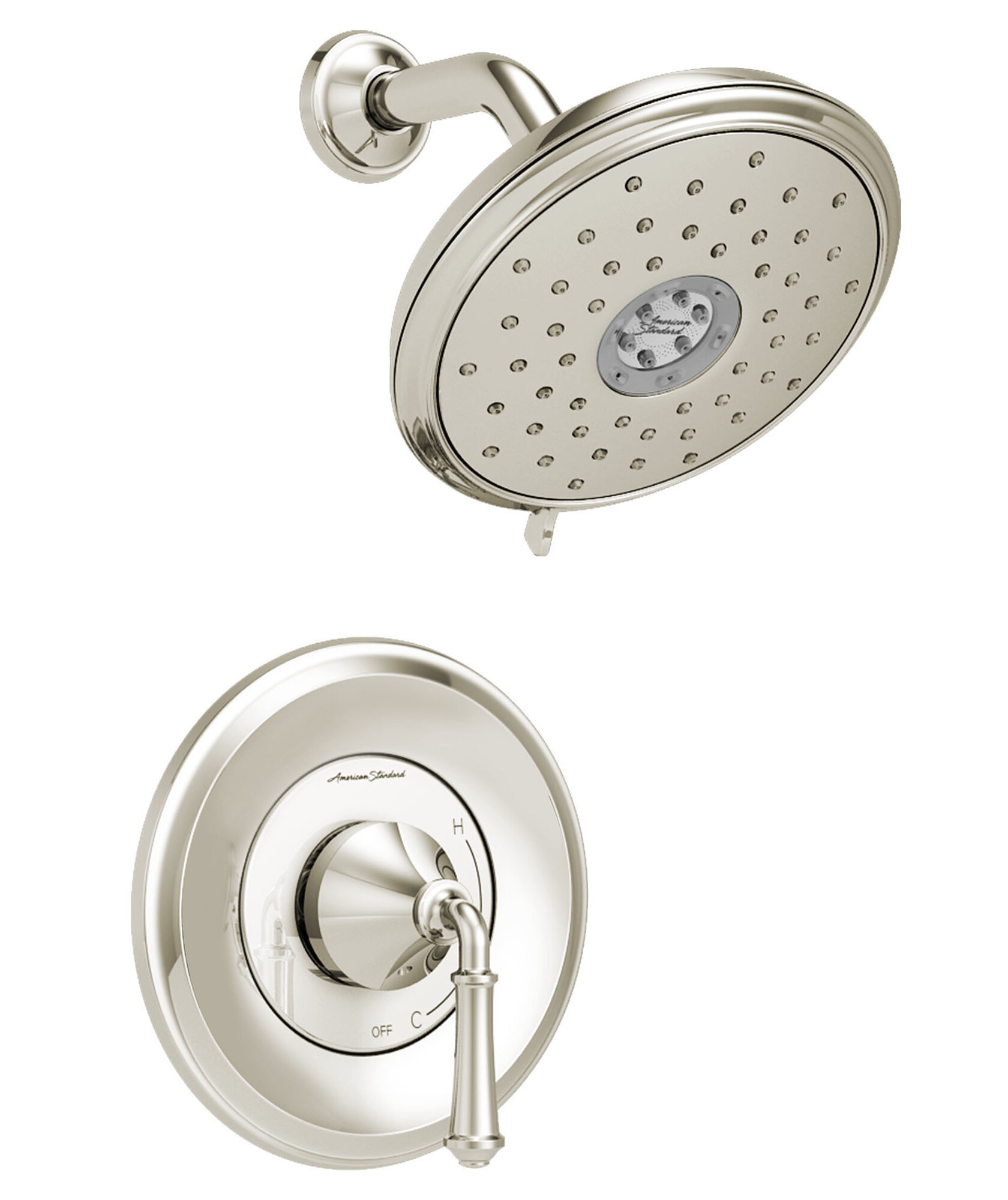 Delancey Dual Function Shower Faucet Trim With Cartridge