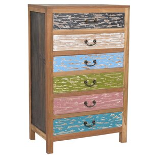 Jeffan Addison 6 Drawer Chest