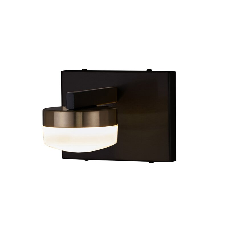 Nassar 1 Light Led Dimmable Armed Sconce By Orren Ellis For Home Review Here
