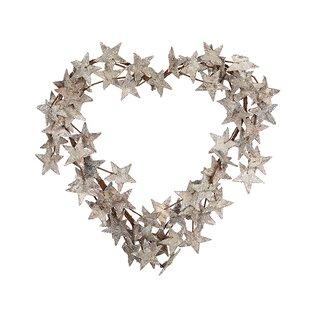 Heart 40cm Wreath By The Seasonal Aisle
