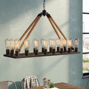 Trent Austin Design Inyo 18-Light Kitchen Island Pendant