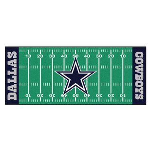 NFL - Dallas Cowboys Football Field Runner ByFANMATS