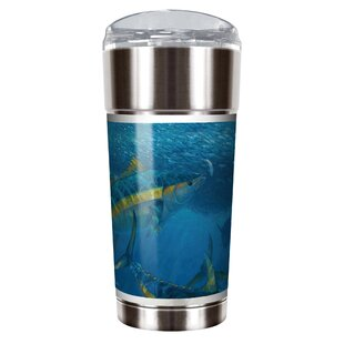 Mark Susinno's Yellow Fin Tuna 24 oz. Stainless Steel Travel Tumbler