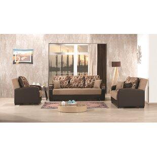 Auren 3 Piece Sleeper Living Room Set By Latitude Run