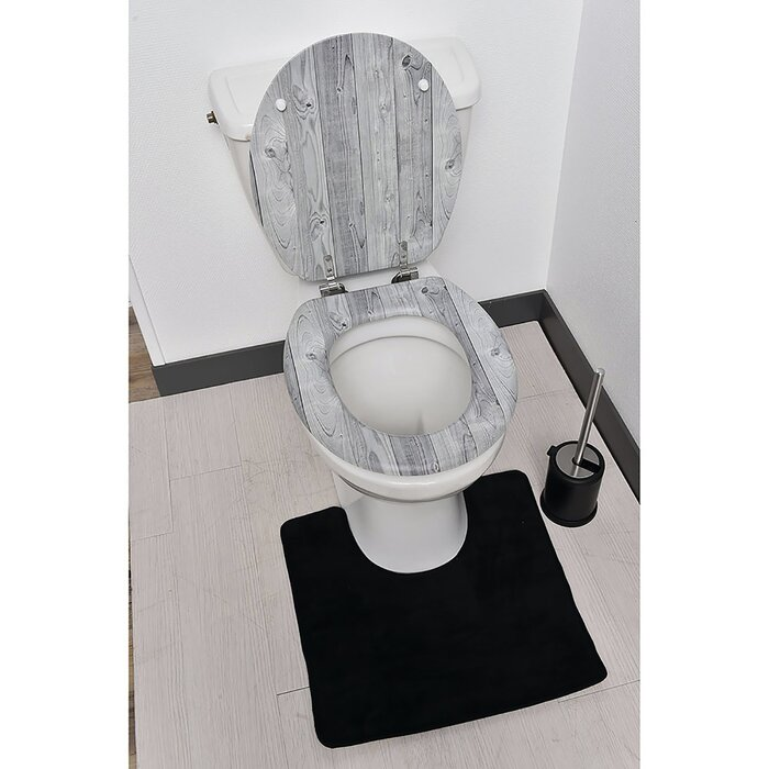 Swell Panneling Effect Elongated Toilet Seat Ibusinesslaw Wood Chair Design Ideas Ibusinesslaworg