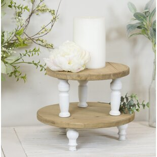 Lodd Round MultiTiered 2 Piece Plant Stand Set