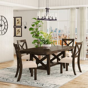Melstone 5 Piece Extendable Dining Set Three Posts
