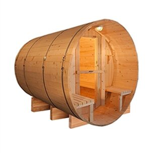 8 Person Traditional Steam Sauna By ALEKO
