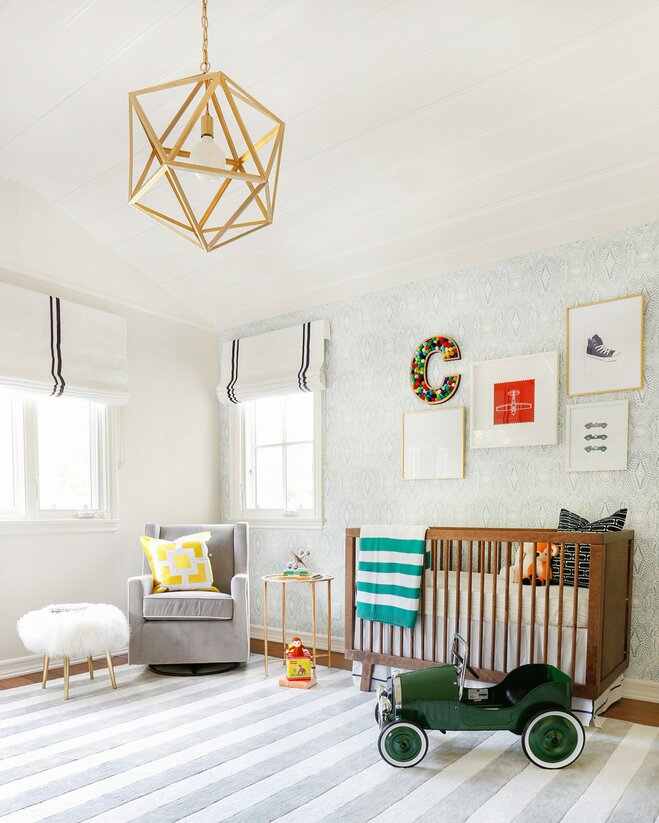 Baby Room Wall Décor Ideas Tips For Careful Parents: A Cute And Colorful Nursery Makeover