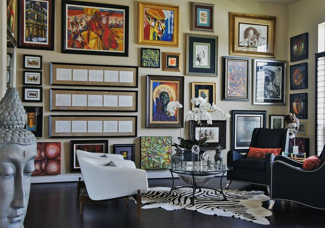 How to Decorate a Large Wall | Wayfair