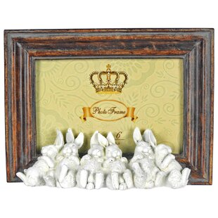 Sleeping Bunnies Picture Frame By Rosalind Wheeler