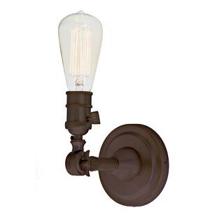 Reviews Martucci Swivel 1-Light Armed Sconce By Gracie Oaks