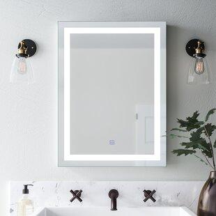Butcher Illuminated Modern & Contemporary Bathroom Wall Mirror