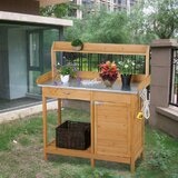 Fir Potting Bench