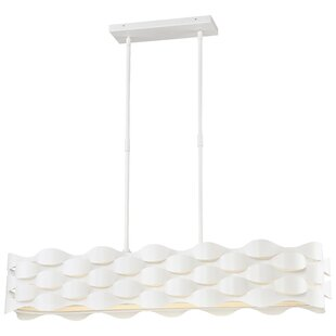 Orren Ellis Sigma 1-Light LED Kitchen Island Pendant