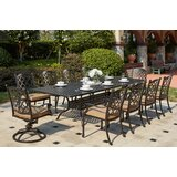 Waconia 11 Piece Dining Set with Cushions