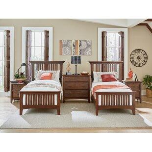 Zussen Twin Panel 5 Piece Bedroom Set