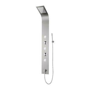 Boann Recessed Mount Adjustable Shower Head Panel