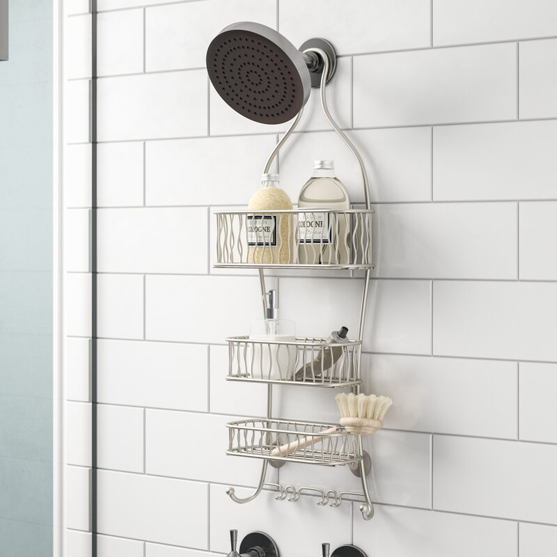 Rebrilliant Squiggle Shower Caddy & Reviews | Wayfair