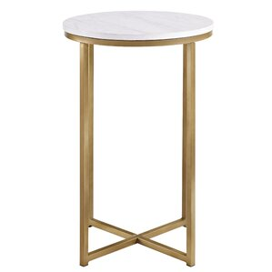 Delightful Andromeda Round End Table