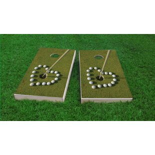 Custom Cornhole Boards Golf Love Cornhole Game Set