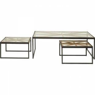 Review Beam 3 Piece Coffee Table Set