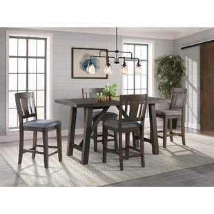 Sorrentino 5 Piece Pub Table Set Millwood Pines