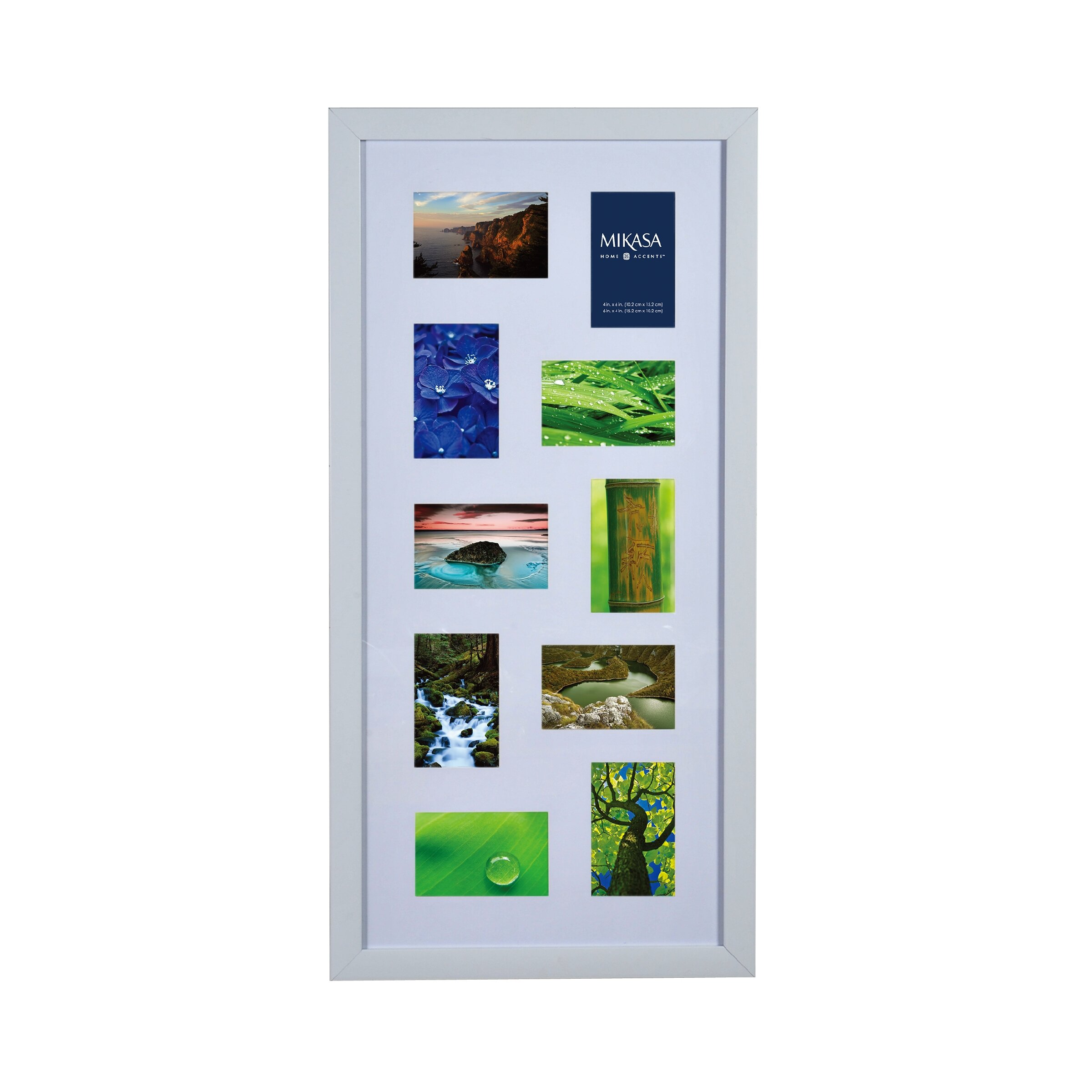 Mikasa 10-Opening Collage Picture Frame | Wayfair