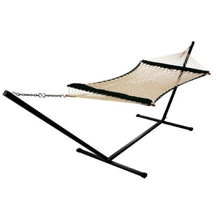 Freeport Park Dana Fabric Rope Hammock with Pad