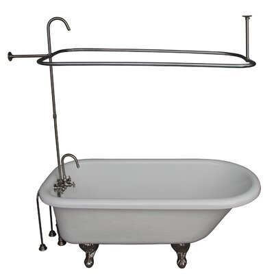 "60"" x 29.5"" Soaking Bathtub Kit Barclay"