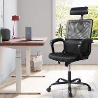 Inbox Zero Home Office Ergonomic Mesh Task Chair