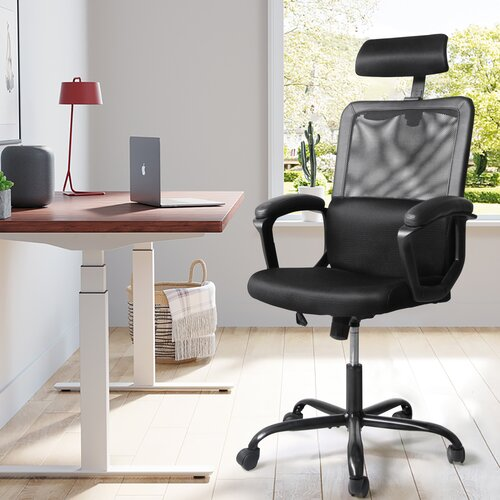 Inbox Zero Home Office Ergonomic Mesh Task Chair