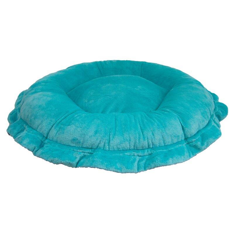Tucker Murphy Pet Ultra Plush Aquamarine Arctic Seal Luxury Deluxe Dog Pet Lily Pod Bed Pillow Classic Wayfair